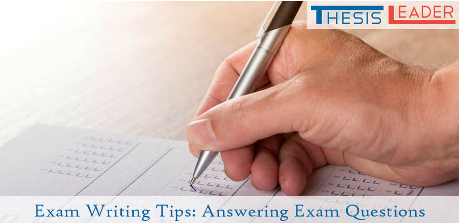 Exam Writing Tips