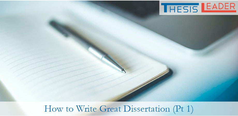 How to write a dissertation topic