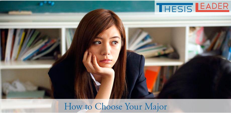 choose major